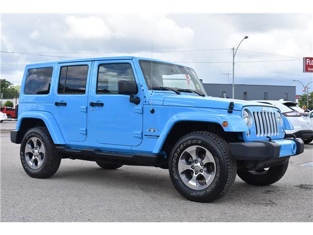 2018 Jeep Wrangler JK Unlimited Sahara (Stk: p36779) in Saskatoon - Image 4 of 23