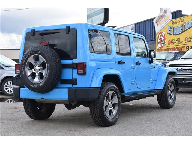 2018 Jeep Wrangler JK Unlimited Sahara (Stk: p36779) in Saskatoon - Image 6 of 23