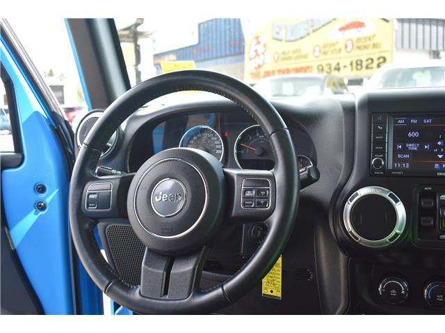2018 Jeep Wrangler JK Unlimited Sahara (Stk: p36779) in Saskatoon - Image 18 of 23