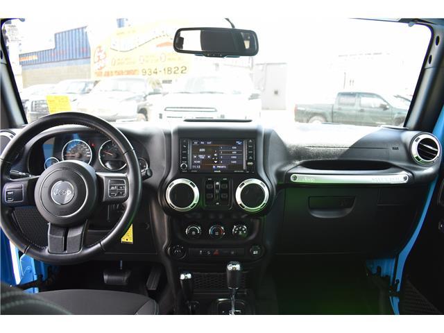 2018 Jeep Wrangler JK Unlimited Sahara (Stk: p36779) in Saskatoon - Image 17 of 23