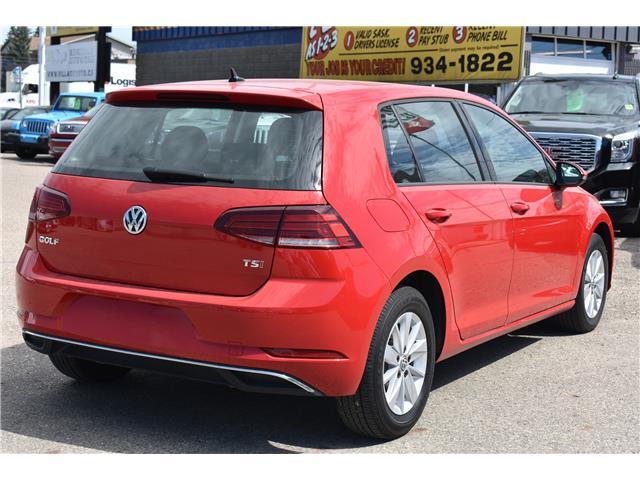 2018 Volkswagen Golf 1.8 TSI Trendline (Stk: p36889c) in Saskatoon - Image 5 of 20