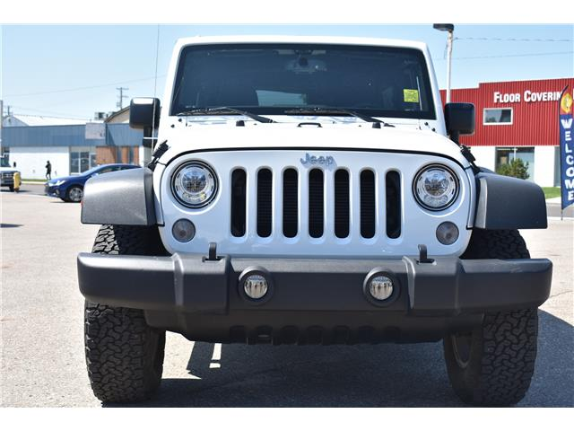 2018 Jeep Wrangler JK Unlimited Sport (Stk: p36848) in Saskatoon - Image 2 of 19