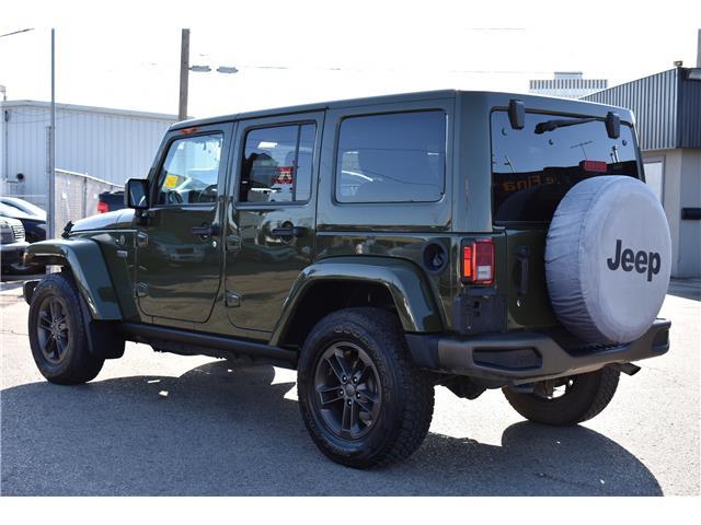 2016 Jeep Wrangler Unlimited Sahara (Stk: T37011) in Saskatoon - Image 3 of 29