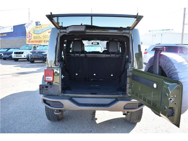 2016 Jeep Wrangler Unlimited Sahara (Stk: T37011) in Saskatoon - Image 4 of 29