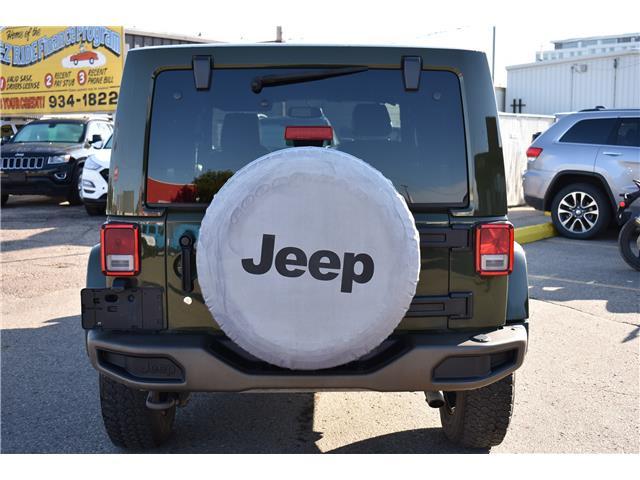 2016 Jeep Wrangler Unlimited Sahara (Stk: T37011) in Saskatoon - Image 5 of 29