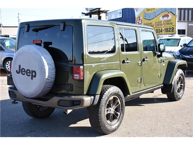 2016 Jeep Wrangler Unlimited Sahara (Stk: T37011) in Saskatoon - Image 6 of 29
