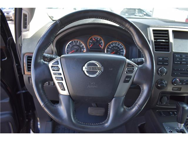 2015 Nissan Armada Platinum (Stk: ) in Saskatoon - Image 14 of 30