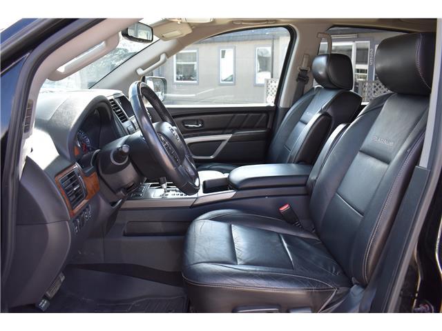 2015 Nissan Armada Platinum (Stk: ) in Saskatoon - Image 11 of 30