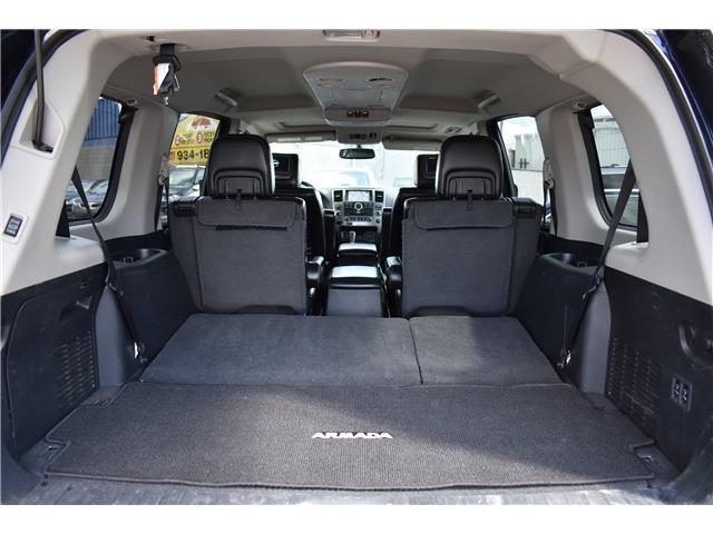 2015 Nissan Armada Platinum (Stk: ) in Saskatoon - Image 29 of 30