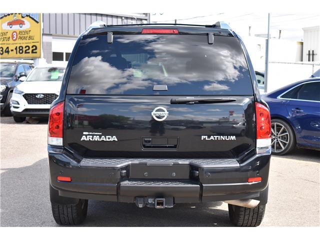 2015 Nissan Armada Platinum (Stk: ) in Saskatoon - Image 4 of 30
