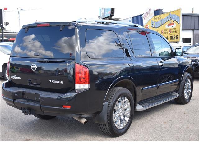 2015 Nissan Armada Platinum (Stk: ) in Saskatoon - Image 5 of 30