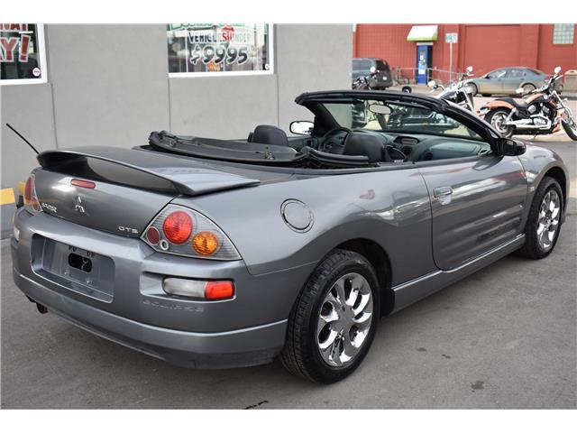 2003 Mitsubishi Eclipse Spyder GT Premium (Stk: T37087) in Saskatoon - Image 6 of 26