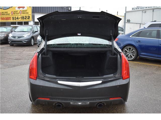 2013 Cadillac ATS 2.0L Turbo Performance (Stk: P37063) in Saskatoon - Image 5 of 30