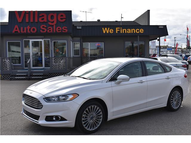 2016 Ford Fusion Titanium 3FA6P0D99GR181405 P37213 in Saskatoon