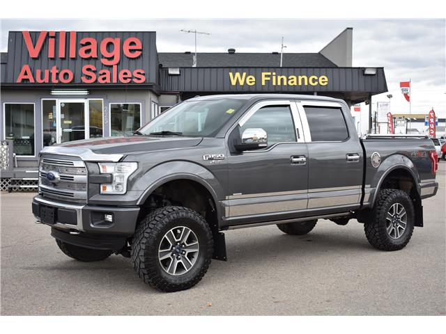 2015 Ford F-150 Platinum (Stk: ) in Saskatoon - Image 1 of 30