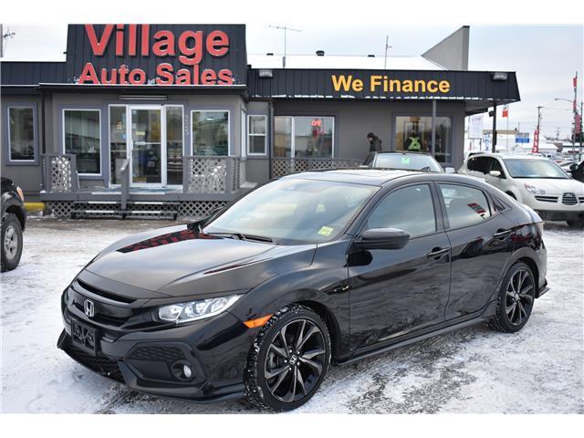 2018 Honda Civic Sport SHHFK7H45JU301613 T37450 in Saskatoon