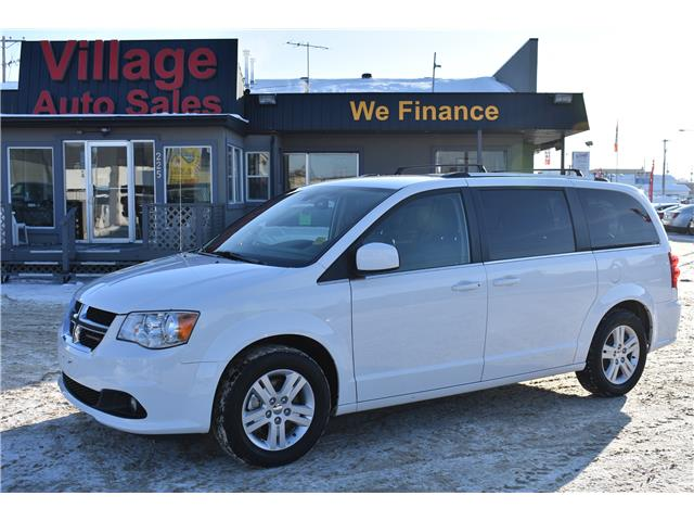 2018 Dodge Grand Caravan Crew 2C4RDGDG7JR295844 P37521 in Saskatoon