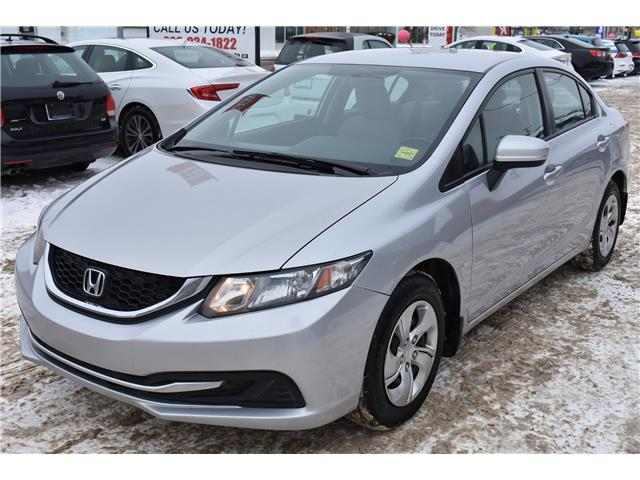 2015 Honda Civic LX (Stk: PVWV37524) in Saskatoon - Image 1 of 24