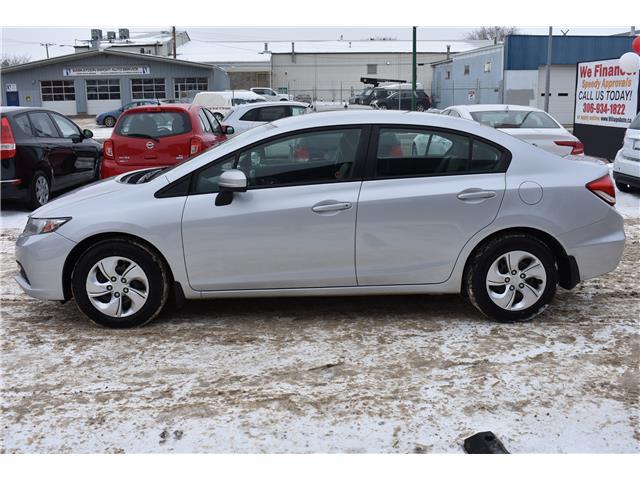 2015 Honda Civic LX (Stk: PVWV37524) in Saskatoon - Image 2 of 24