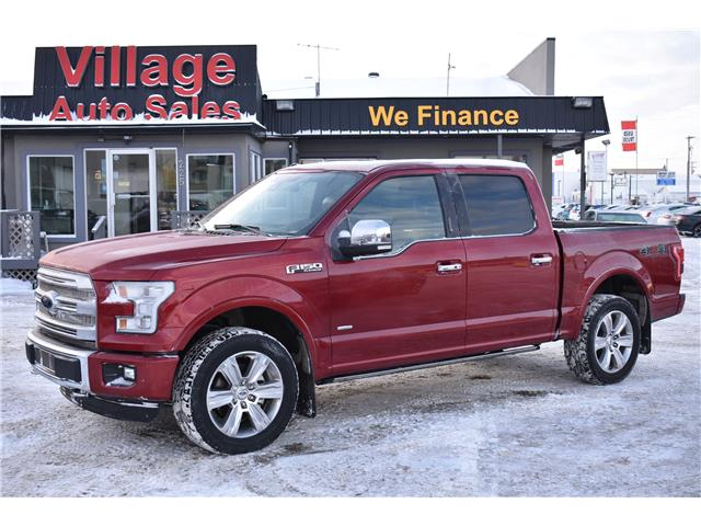 2016 Ford F-150 Platinum (Stk: P37189) in Saskatoon - Image 1 of 27
