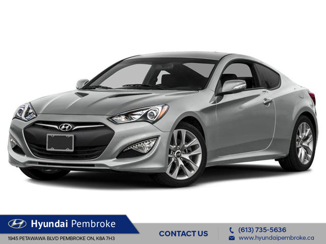 2016 Hyundai Genesis Coupe  (Stk: 16482) in Pembroke - Image 1 of 10