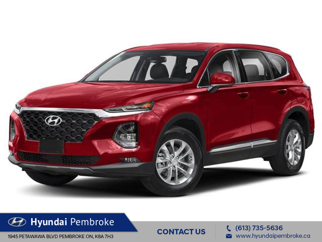 2019 Hyundai Santa Fe  (Stk: 19211) in Pembroke - Image 1 of 9