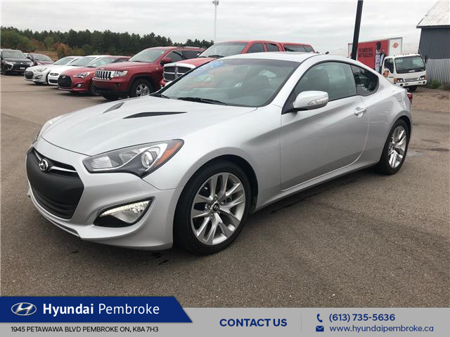 2016 Hyundai Genesis Coupe  (Stk: 16480) in Pembroke - Image 1 of 12