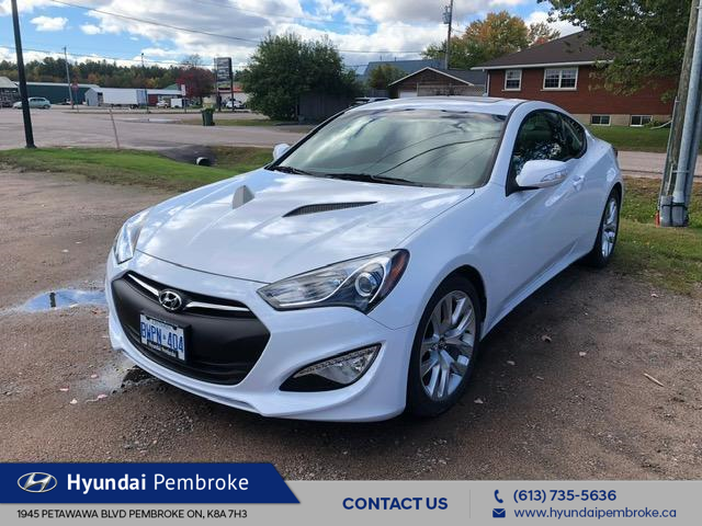 2016 Hyundai Genesis Coupe  (Stk: 16393) in Pembroke - Image 1 of 5