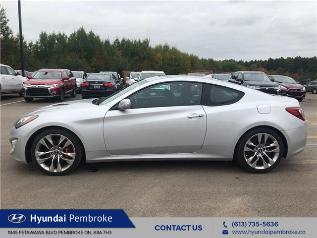 2016 Hyundai Genesis Coupe  (Stk: 16482) in Pembroke - Image 2 of 14