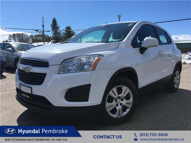 2015 Chevrolet Trax LS (Stk: 19284A) in Pembroke - Image 1 of 22
