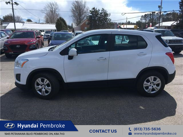 2015 Chevrolet Trax LS (Stk: 19284A) in Pembroke - Image 2 of 22