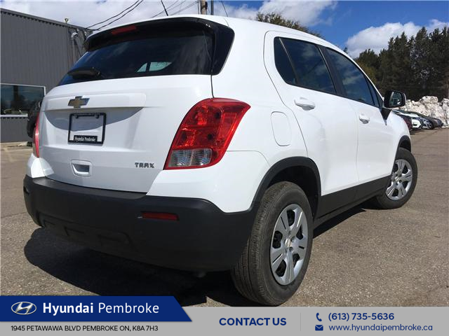 2015 Chevrolet Trax LS (Stk: 19284A) in Pembroke - Image 5 of 22