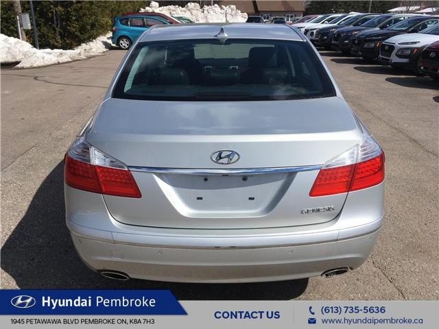 2011 Hyundai Genesis  (Stk: 19118A) in Pembroke - Image 4 of 25