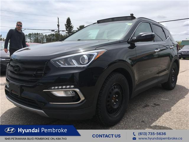 2017 Hyundai Santa Fe Sport 2.0T SE (Stk: 19298A) in Pembroke - Image 1 of 28