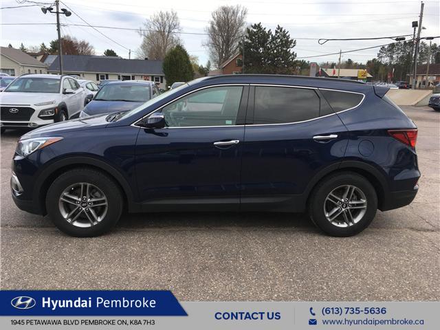 2017 Hyundai Santa Fe Sport  (Stk: 19009A) in Pembroke - Image 2 of 26