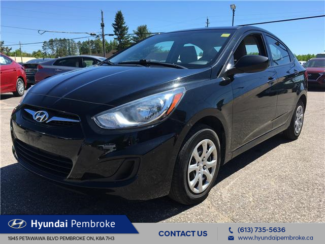 2014 Hyundai Accent L (Stk: 19332A) in Pembroke - Image 1 of 20