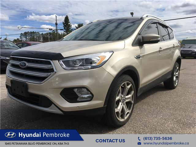 2017 Ford Escape Titanium (Stk: 19353A) in Pembroke - Image 1 of 27