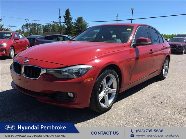 2013 BMW 328i xDrive (Stk: 19385A) in Pembroke - Image 1 of 25