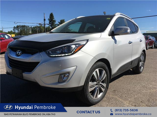 2014 Hyundai Tucson Limited (Stk: 18335A) in Pembroke - Image 1 of 28