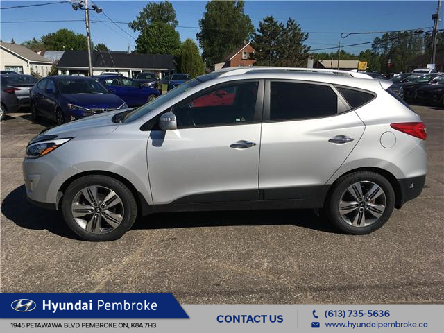 2014 Hyundai Tucson Limited (Stk: 18335A) in Pembroke - Image 2 of 28