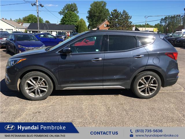 2017 Hyundai Santa Fe Sport 2.0T Limited (Stk: 19213A) in Pembroke - Image 2 of 26
