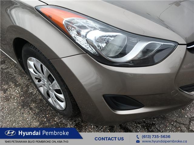 2013 Hyundai Elantra GL (Stk: 19396A) in Pembroke - Image 9 of 22