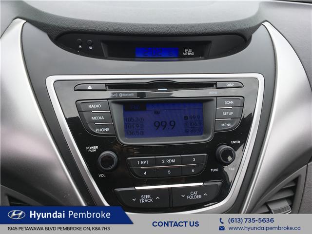 2013 Hyundai Elantra GL (Stk: 19396A) in Pembroke - Image 19 of 22