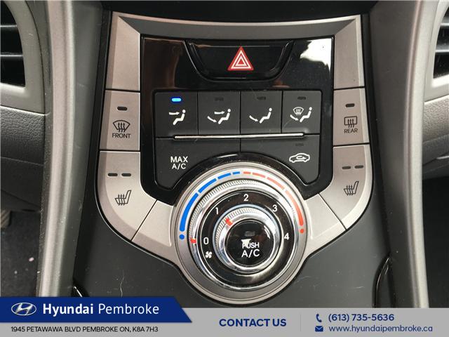 2013 Hyundai Elantra GL (Stk: 19396A) in Pembroke - Image 20 of 22