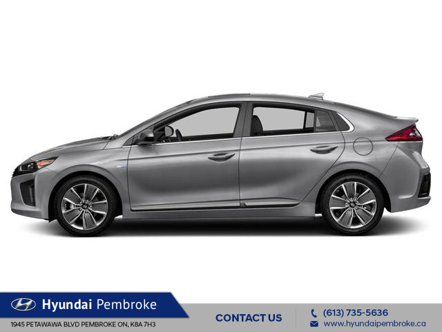2019 Hyundai Ioniq Hybrid Preferred (Stk: 19407) in Pembroke - Image 2 of 9