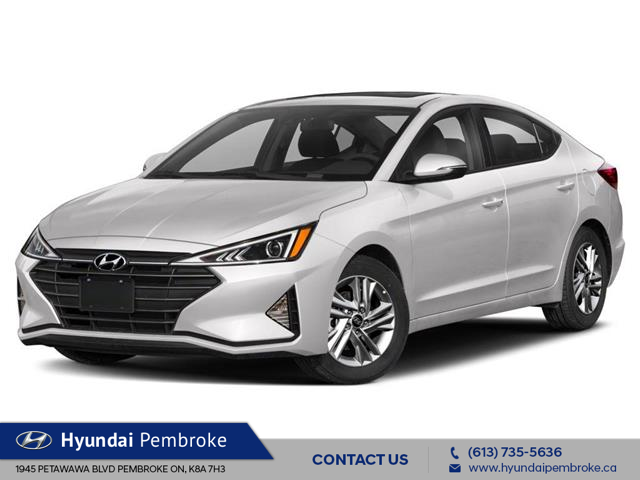 2020 Hyundai Elantra Preferred w/Sun & Safety Package (Stk: 20006) in Pembroke - Image 1 of 9