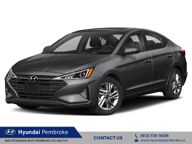 2020 Hyundai Elantra Preferred w/Sun & Safety Package (Stk: 20011) in Pembroke - Image 1 of 9