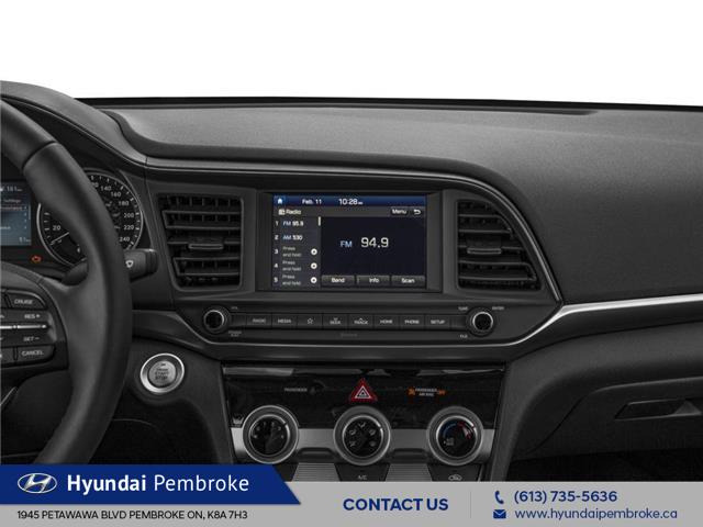 2020 Hyundai Elantra Preferred w/Sun & Safety Package (Stk: 20011) in Pembroke - Image 7 of 9