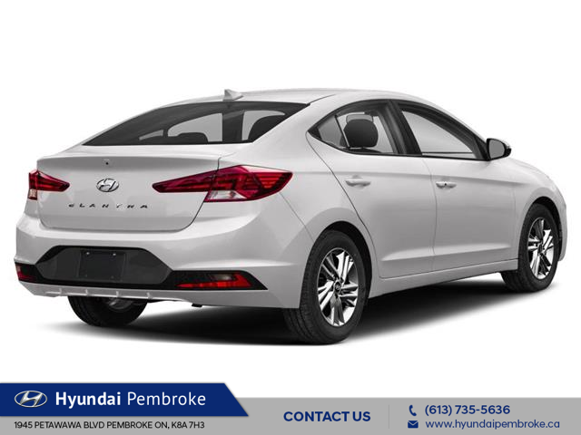 2020 Hyundai Elantra Preferred w/Sun & Safety Package (Stk: 20013) in Pembroke - Image 3 of 9
