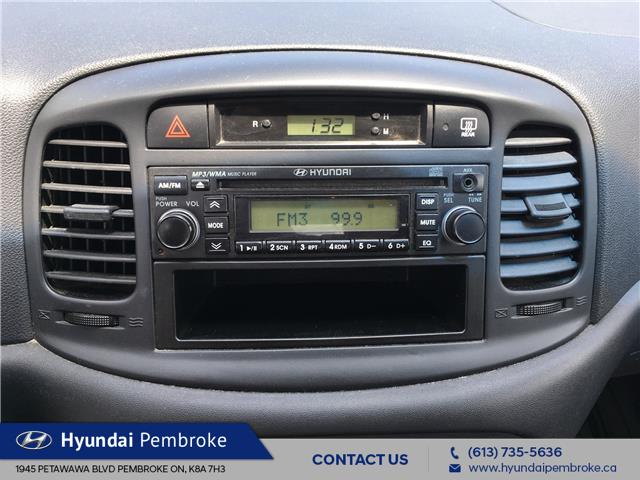 2009 Hyundai Accent L (Stk: 19343B) in Pembroke - Image 18 of 20